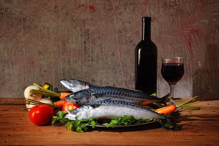 Fish-and-wine